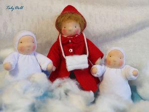 Зимняя сказка приходит в гости   Ярмарка Мастеров - ручная работа, handmade