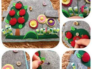 НОВОЕ!!! Обзор развивающего планшета-сумочки. Ярмарка Мастеров - ручная работа, handmade.