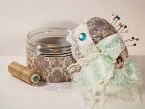 Creating a Pincushion Box with Your Own Hands. Livemaster - handmade