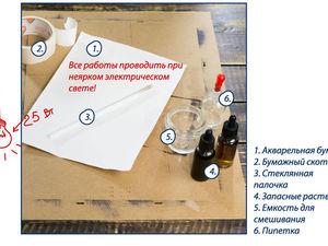 Еще один творческий способ нанесения раствора для цианотипии. Ярмарка Мастеров - ручная работа, handmade.