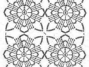 Учимся вязать крючком. Урок 16. Соединение ажурных квадратов. Ярмарка Мастеров - ручная работа, handmade.