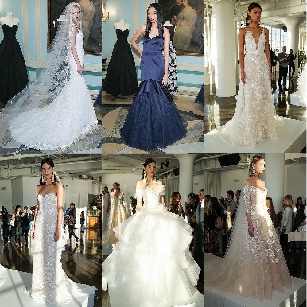 Неделя свадебной моды в Нью-Йорке: 100 лучших подвенечных платьев, фото № 12