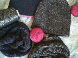 Аукцион на комплект шапочки и снуда!. Ярмарка Мастеров - ручная работа, handmade.