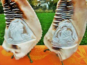 Скоро Новый год, идеи для подарков в моем магазине: редкие старинные лампы с камеями Арт нуво Франция!. Ярмарка Мастеров - ручная работа, handmade.