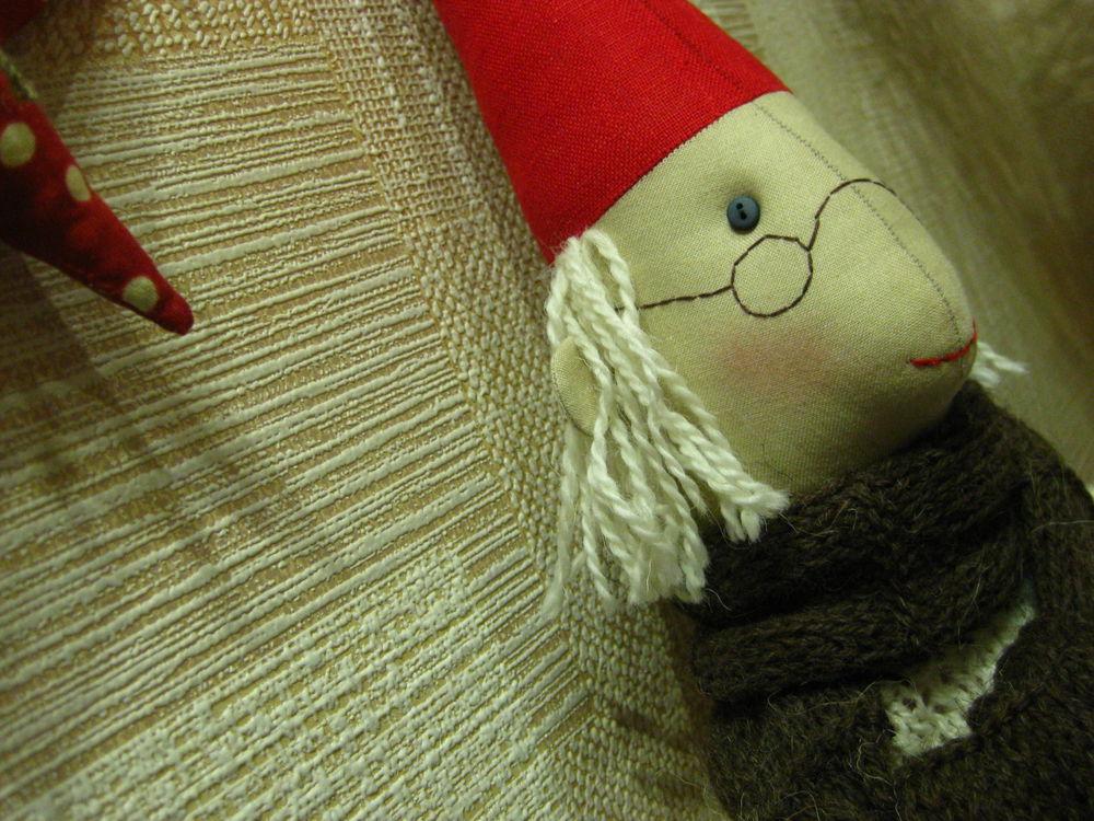 кукла ручной работы, красивый подарок, лен