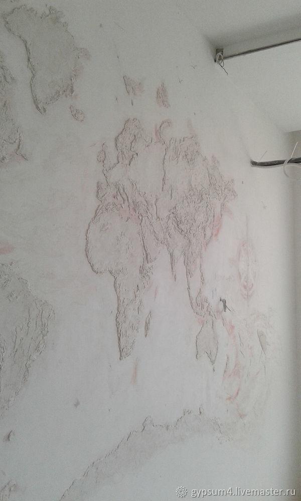 Изготавливаем барельеф «Карта», фото № 15