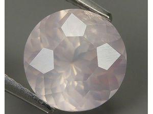 Розовый кварц 9,8 мм. 3,72. Ярмарка Мастеров - ручная работа, handmade.