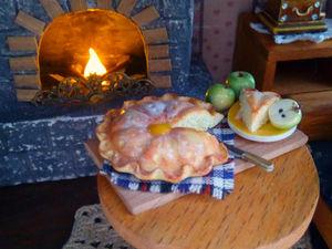 Чай с яблочным штруделем. Ярмарка Мастеров - ручная работа, handmade.