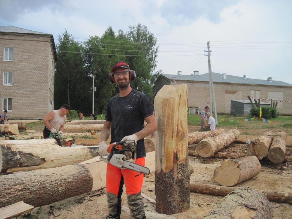 Об участии в международном фестивале деревянной скульптуры., фото № 2
