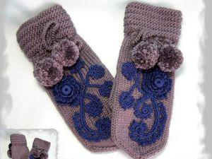 Варежки для Екатерины - фотоотчет. | Ярмарка Мастеров - ручная работа, handmade