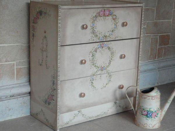 Роспись мебели.   Ярмарка Мастеров - ручная работа, handmade
