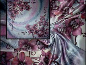 Батик платок для Светланы