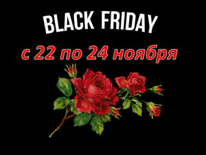 Черная пятница с 22 по 24 ноября! Скидки до 50%. Ярмарка Мастеров - ручная работа, handmade.