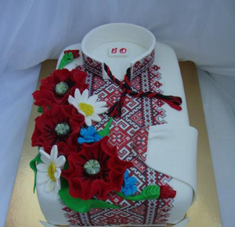 Картинки торта сорочка