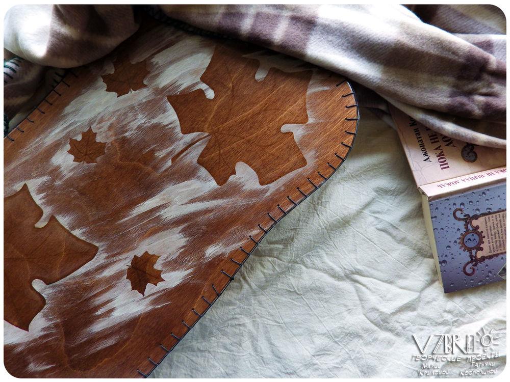 vzbrelo, столик, новая работа, обновление витрины, клен, роспись, для дома, для уюта