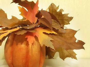 Видео мастер-класс: тыква-ваза из зефирного фоамирана. Ярмарка Мастеров - ручная работа, handmade.