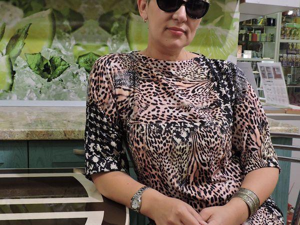 Новая работа. Платье из итальянского трикотажа. | Ярмарка Мастеров - ручная работа, handmade