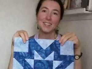 """Лоскутное одеяло """"Звезда"""" — видеокурс. Ярмарка Мастеров - ручная работа, handmade."""