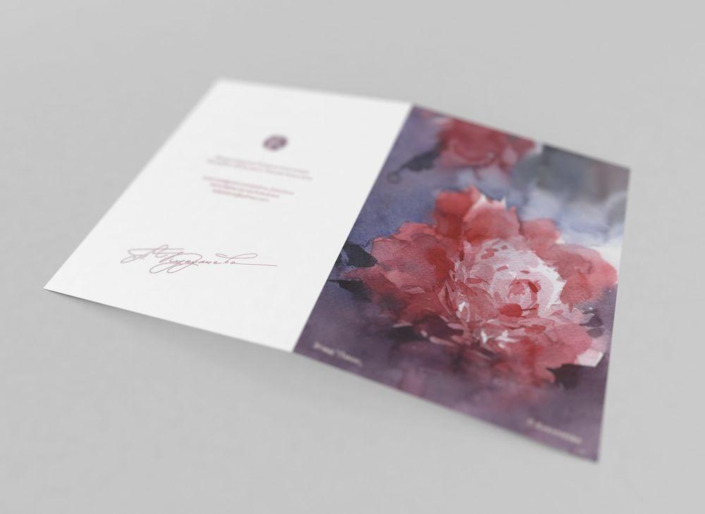 акварельные открытки, предзаказ открыток