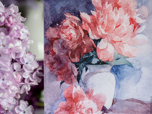Открытки с цветами в наличии. Ярмарка Мастеров - ручная работа, handmade.