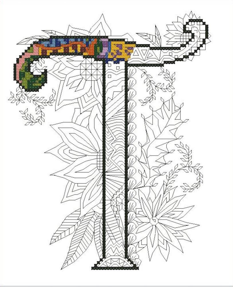 простовышей, зентангл, рукоделие, вышивеа крестиком