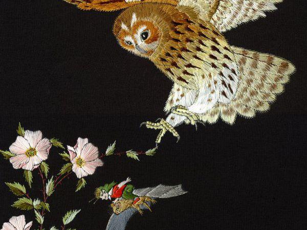 Вдохновение природой в сюжетах вышивки гладью Helen M. Stevens   Ярмарка Мастеров - ручная работа, handmade