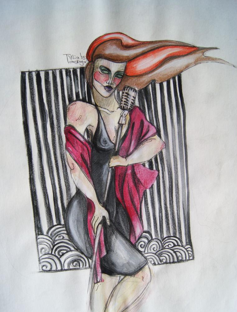арт деко, зарисовки