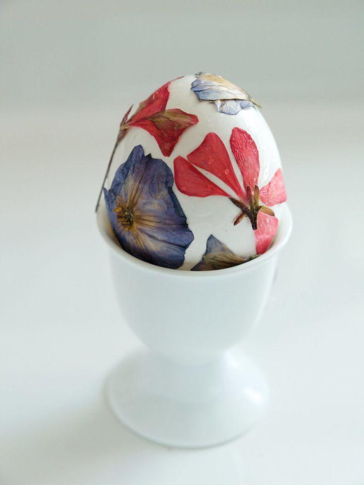 пасхальные яйца, пасхальные яйца с сухоцветами