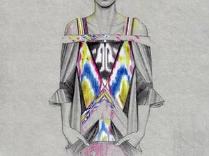 fashion-иллюстратор. Ярмарка Мастеров - ручная работа, handmade.