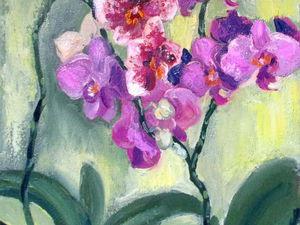 Распродажа картин цветов!   Ярмарка Мастеров - ручная работа, handmade