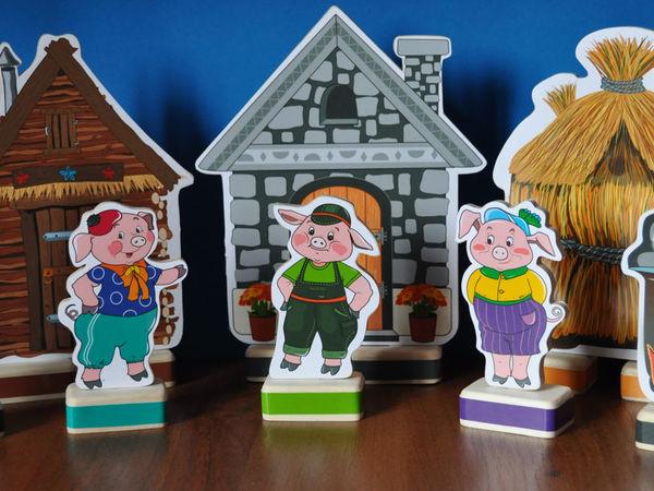 Три поросенка   Ярмарка Мастеров - ручная работа, handmade