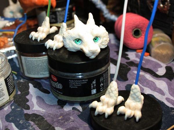 Процесс: драконьи лапочки | Ярмарка Мастеров - ручная работа, handmade