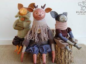 """Коллекция """"Лесные жители"""". Ярмарка Мастеров - ручная работа, handmade."""