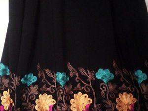 новые ткани для вышитой юбки  D&G   Ярмарка Мастеров - ручная работа, handmade