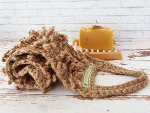 Где растут мочалки. Ярмарка Мастеров - ручная работа, handmade.