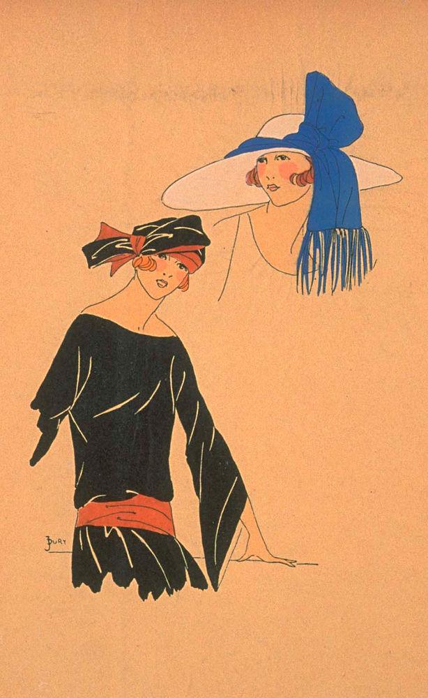 Ах, какие шляпки! Шляпная мода 1922 года по версии французского журнала «Les chapeaux du Tres parisien». Часть 2, фото № 21