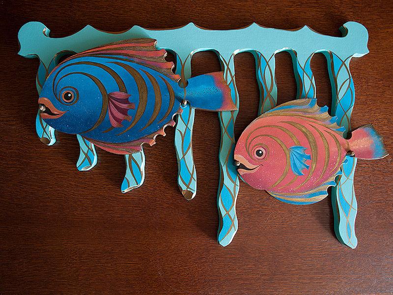 рыбы, роспись рыб