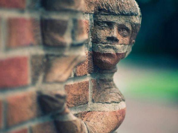 Brad Spencer и его уличные скульптуры из кирпича | Ярмарка Мастеров - ручная работа, handmade
