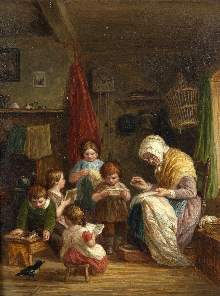 Когда есть чем заняться — стареть некогда: душевные картины о бабушках-рукодельницах, фото № 36