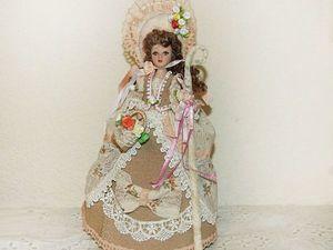 Пастушка - сувенирная кукла с шкатулкой. Ярмарка Мастеров - ручная работа, handmade.
