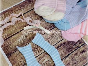 Sewing Stockings for Dolls. Livemaster - handmade