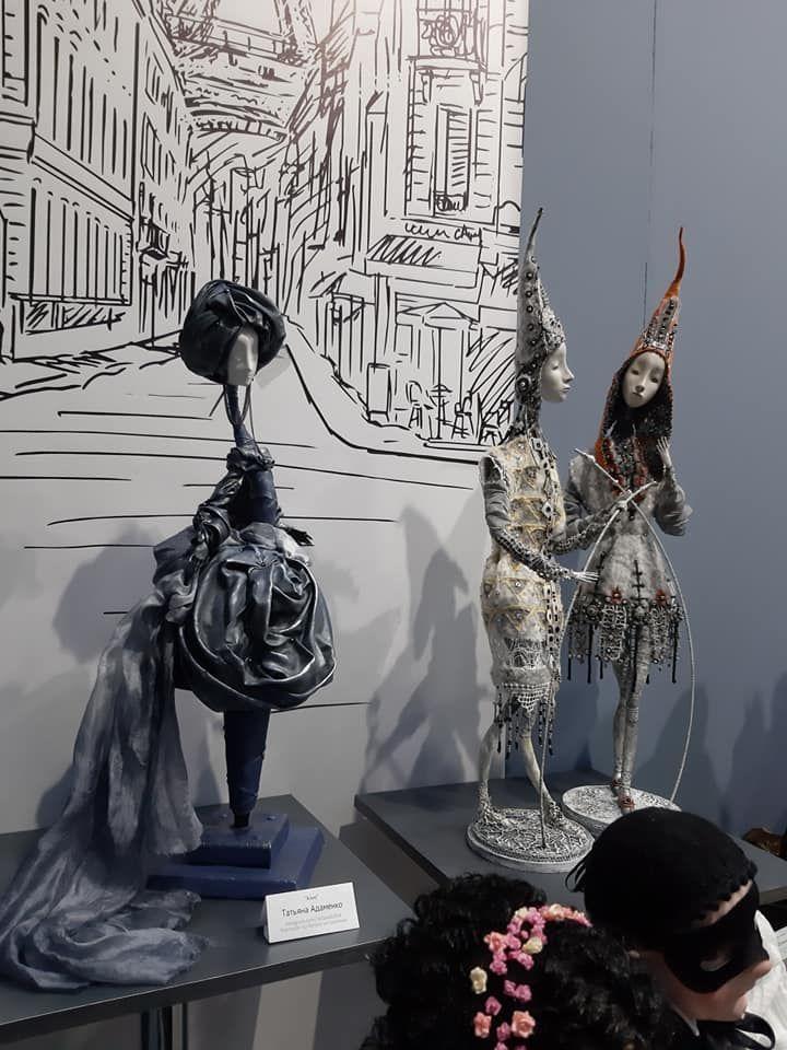 выставка кукол, русские сезоны