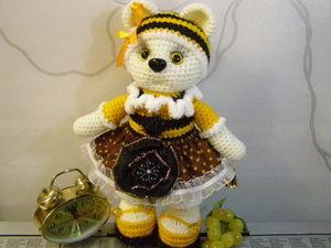 Мишутка Варюша ждёт Маму! (друзьям). Ярмарка Мастеров - ручная работа, handmade.
