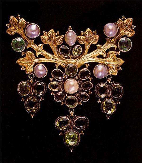 Ювелирное искусство и предметы декора в стиле модерн бельгийца Филиппа Вольферса