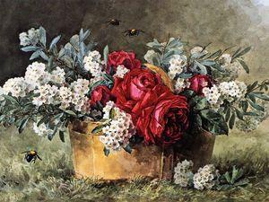 Paul De Longpre — художник и его сады. Ярмарка Мастеров - ручная работа, handmade.