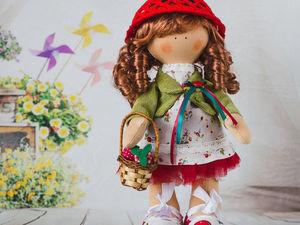 Новая куколка Земляничка!. Ярмарка Мастеров - ручная работа, handmade.