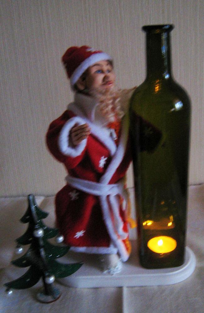 дед мороз, подарок на новый год
