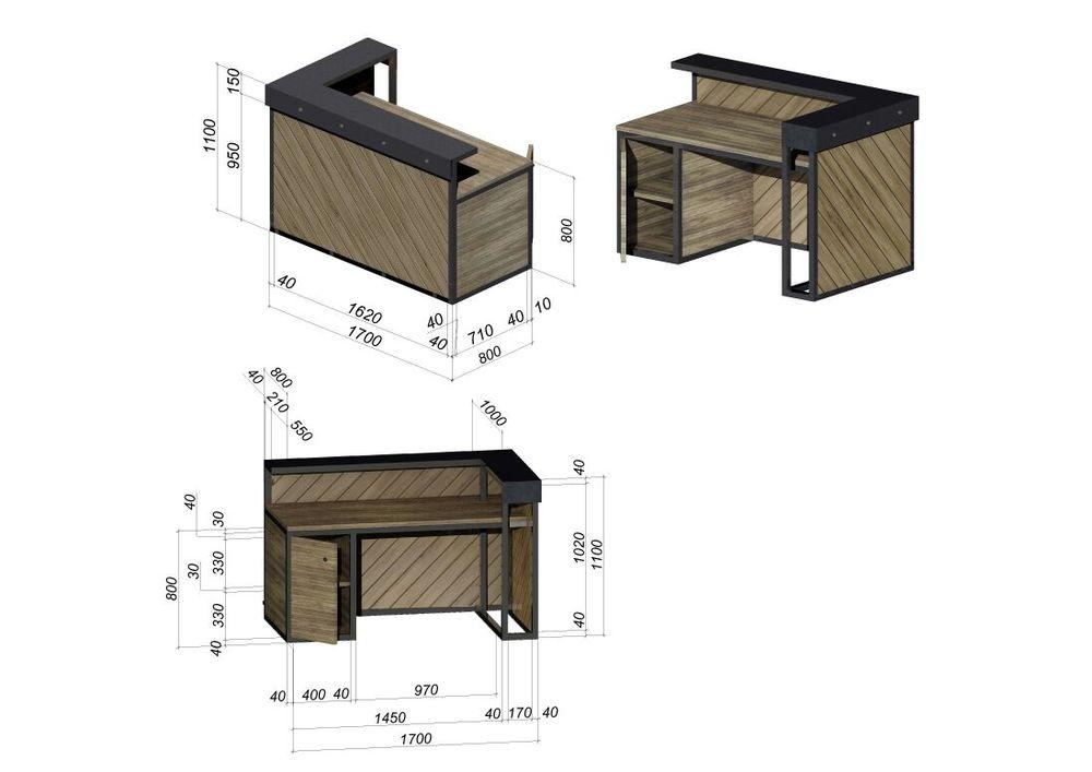 производство мебели, отделка в стиле лофт