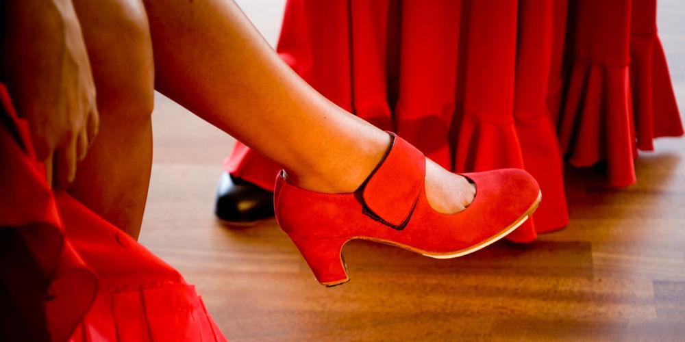 туфли для фламенко, танец, туфли, zapatos