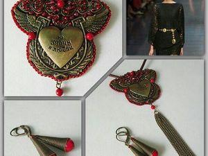 Анонс! Подвеска на кожаном шнуре Любовь спасает от Olga Gardenia. Ярмарка Мастеров - ручная работа, handmade.